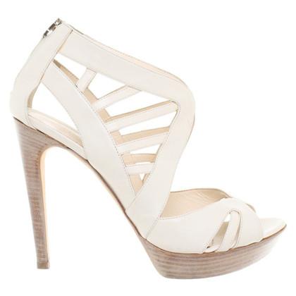 Fendi Peep-toes leather