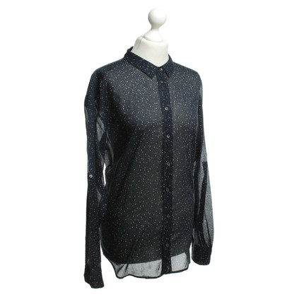 Closed Blouse with dots