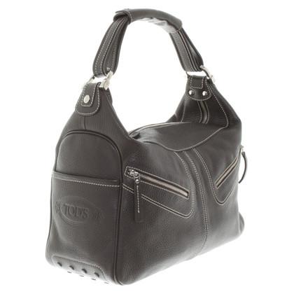Tod's Handtasche in Dunkelbraun