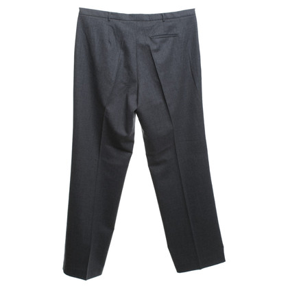 Jil Sander pantaloni di lana in grigio