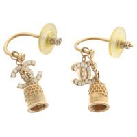 Chanel Ear plug with pendant