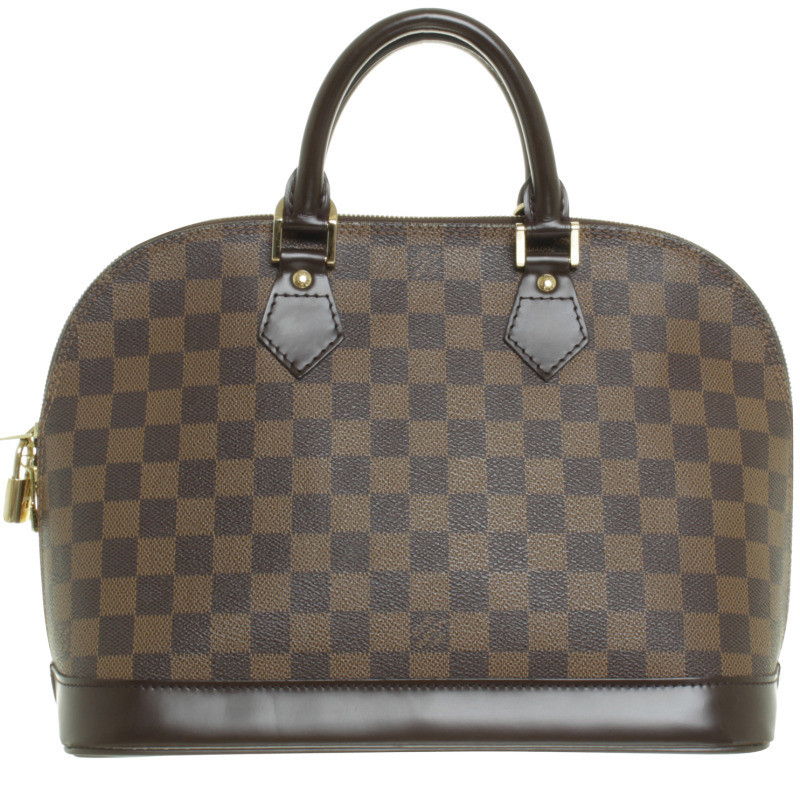 louis vuitton henkeltasche alma damier ebene second hand louis vuitton henkeltasche alma. Black Bedroom Furniture Sets. Home Design Ideas