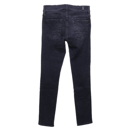 7 For All Mankind Skinny jeans en look usé