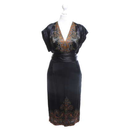 Etro Dress in black with pattern