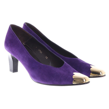 Casadei pumps in violet