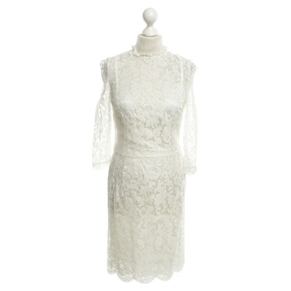 Dolce & Gabbana abito di pizzo in bianco