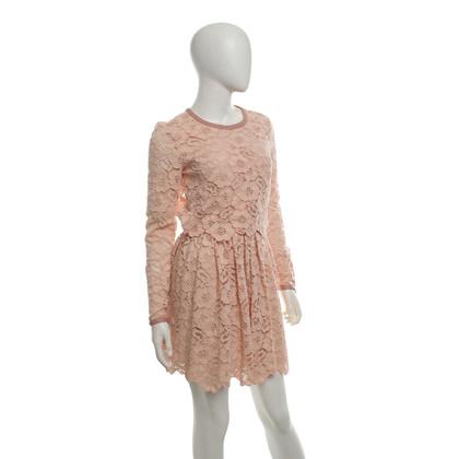 Rachel Zoe Lace dress in rosé