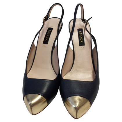 Escada Slingbacks in Bicolor