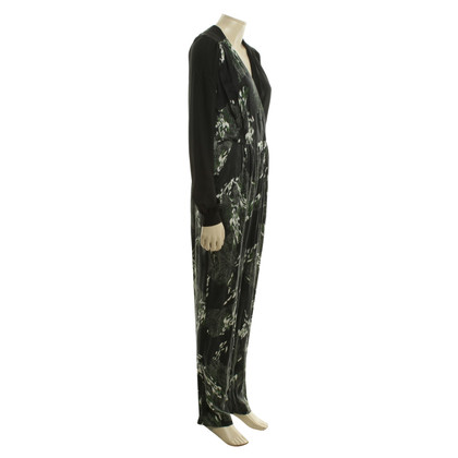 Edun Silk jumpsuit with pattern