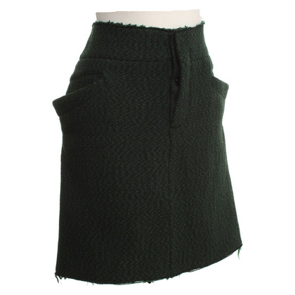 Marni skirt with fanciful seam