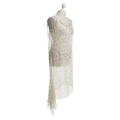 Marni Silk dress in cream