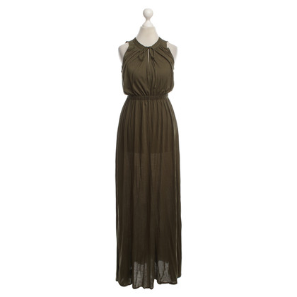 Theory Maxi dress in verde