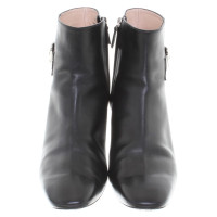 Tod's Black ankle boots; size 42