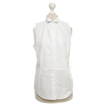 Amanda Wakeley Sleeveless blouse in white