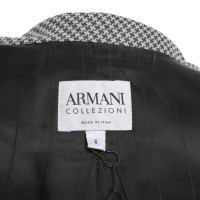 Armani Collezioni Kurzer Blazer mit Muster