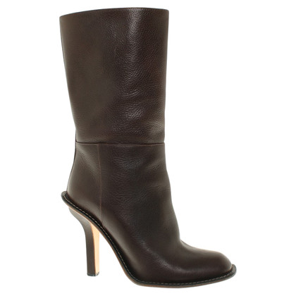 Marni Boots in dark brown