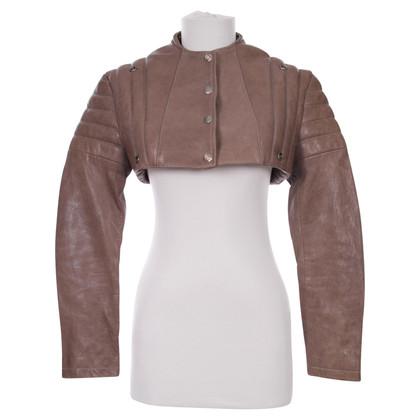 Acne Leather Bolero