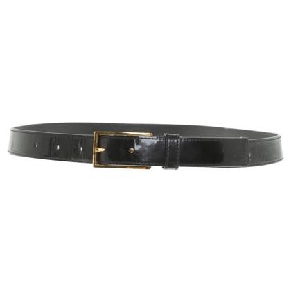 Prada Patent leather belt