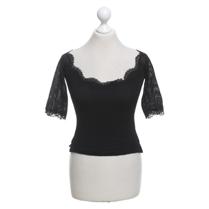 Anna Molinari top with lace