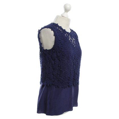 Elie Tahari Top in blue