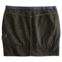 Prada skirt in Safari style
