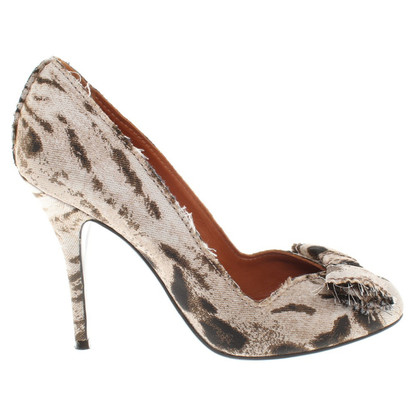 Lanvin pumps with Animal-Print
