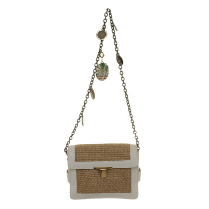 Lanvin Shoulder bag with raffia