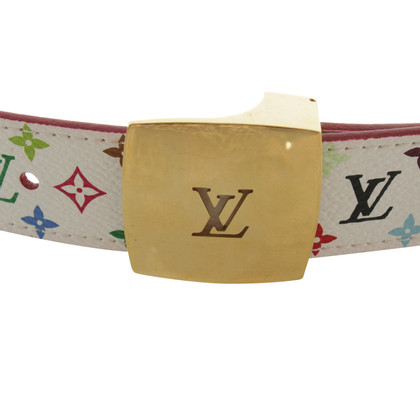 Louis Vuitton Belt from Monogram Multicolore Canvas