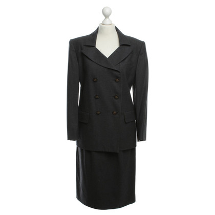 Hermès Kostüm in Grau
