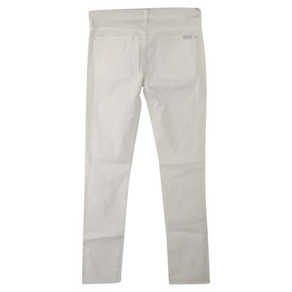 7 For All Mankind  Weiße Skinny Jeans