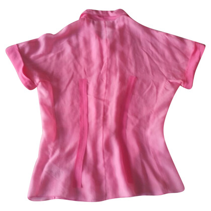 Dolce & Gabbana Blouse in roze zijde