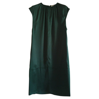 Céline Silk dress in green