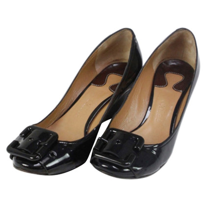Chloé pumps Lacquer leather black