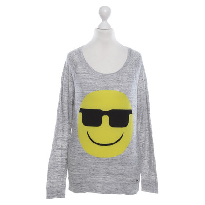 Set Sweater with Smiley motive