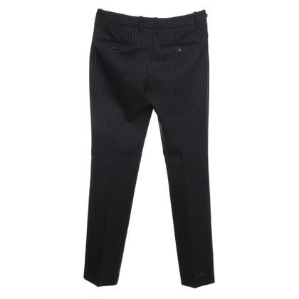 D&G Pinstripe broek in donkerblauw