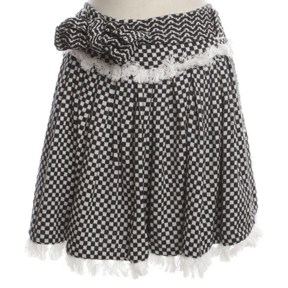 Dodo Bar Or Plaid mini skirt