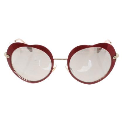 Miu Miu Hartvormige zonnebril