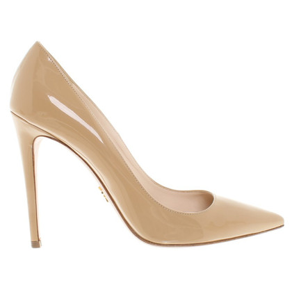 Prada pumps lakleer