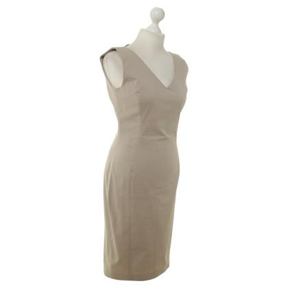 Aigner Katoenen jurk in beige