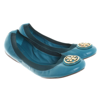 Tory Burch Ballerinas in Petrol