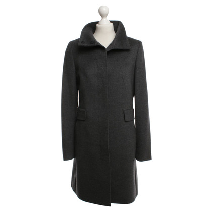 Max Mara Gray coat in virgin wool