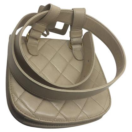 Chanel Waist bag Chanel leather vintage beige