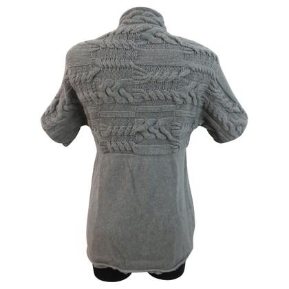 Andere merken RIVAMONTI - omkeerbare breien jas met manchetten