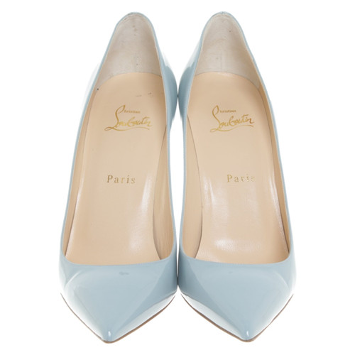 promo code e62b3 5c312 Christian Louboutin High Heels in light blue - Second Hand ...