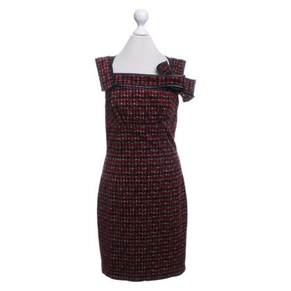 Dsquared2 Kleid mit Hahnentrittmuster
