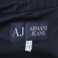 Armani Jeans Blazer mit Nadelstreifen