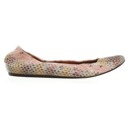 Lanvin Ballerinas made of snakeskin