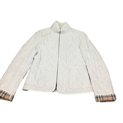Burberry Quilted jacket in white