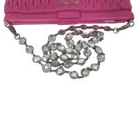 Miu Miu clutch in pink