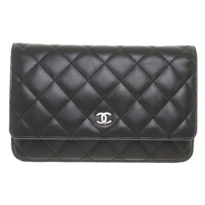 """Chanel """"Wallet on Chain"""" Umhängetasche aus Leder"""